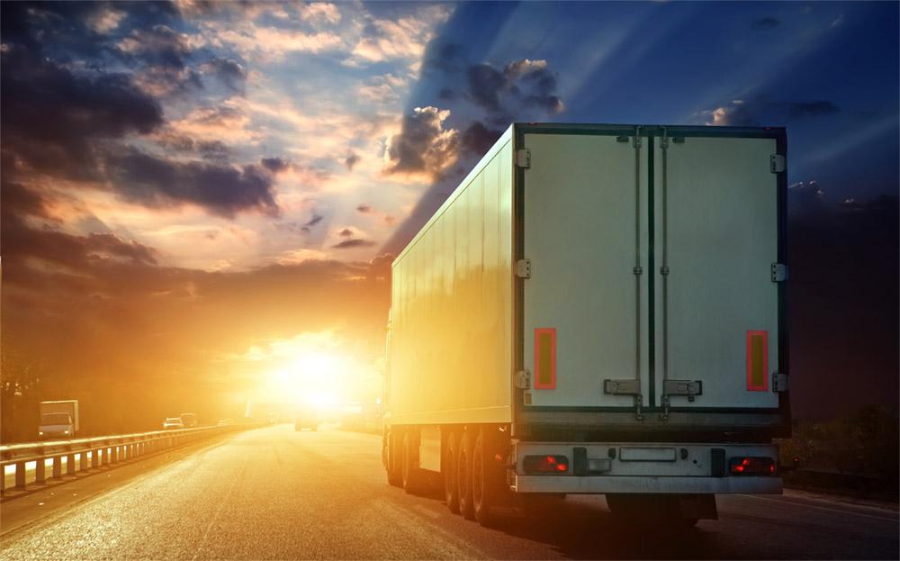 truck-sunset